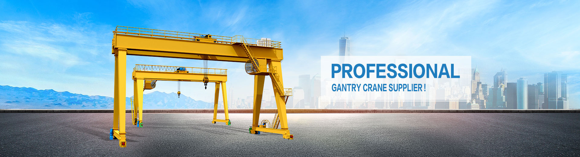 Gantry Crane Manufacturer-Various Models & Support Customization