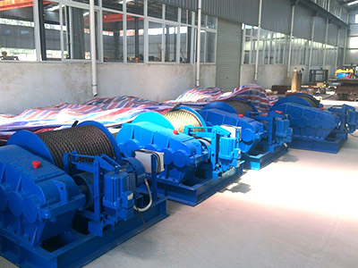 5 ton Electric Winch for our Indonesia Customer