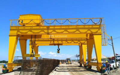 70t Double Girder Gantry Crane Delivery To Chile