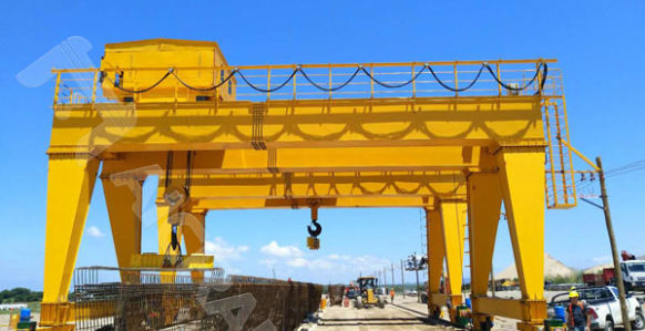 double grider gantry crane in South American