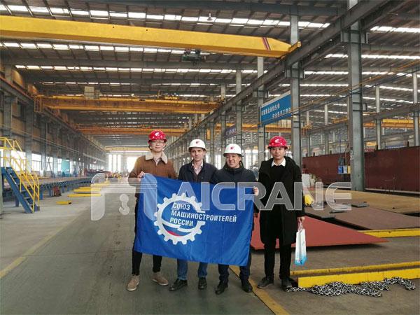Overhead Crane for Russia Client - Aicrane Heavy Machinery