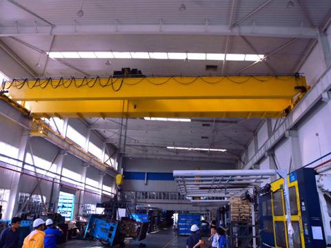 double girder overhead crane Chile