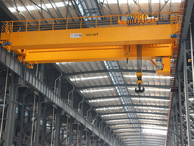Double Girder Overhead Crane with Trolley - Aicrane Heavy Machinery