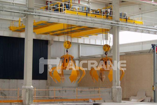 grab-overhead-crane-for-waste-management