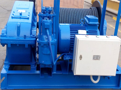 slow speed electric winch supplier