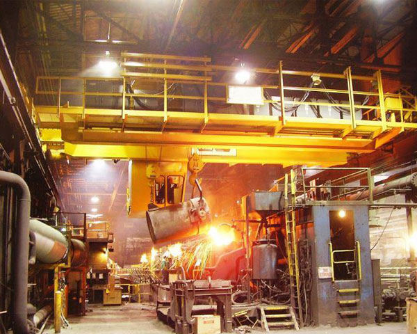 double-girder-overhead-crane-for-casting