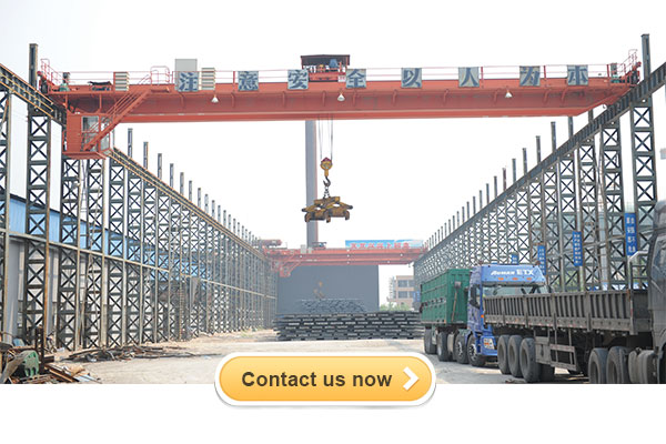 Double girder overhead bridge crane for steel mill application