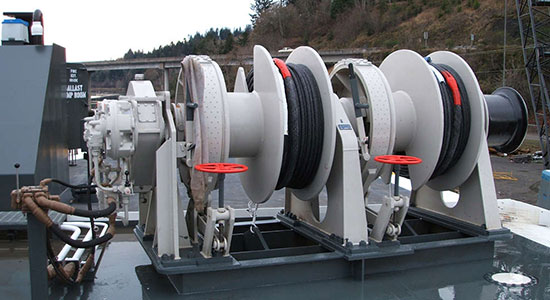 5-200t Electric mooring winch supplier