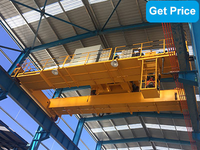 100ton double girder bridge crane