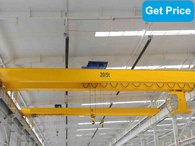 15ton double girder bridge crane