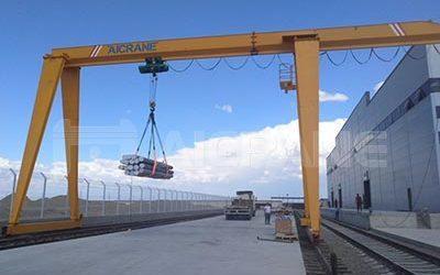 10t single girder gantry crane