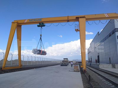 10t single girder gantry crane