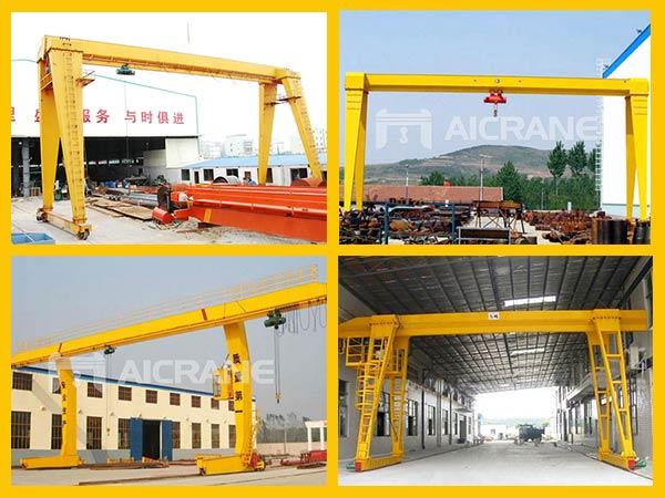 aicrane single girder gantry crane