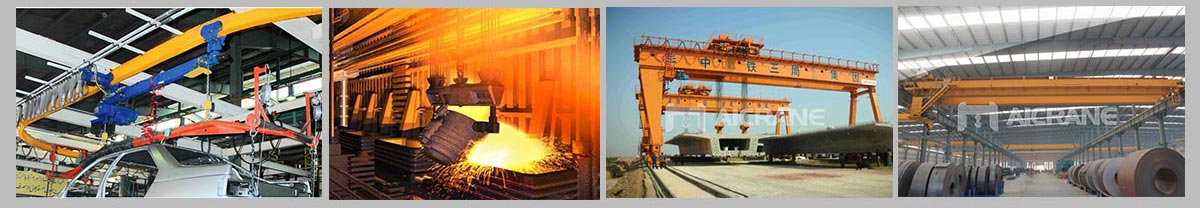overhead gantry crane application