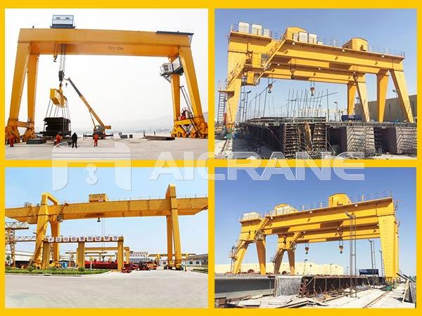 5-200ton double grider gantry crane