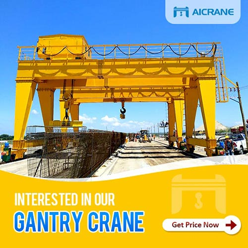 gantry crane for sael from China