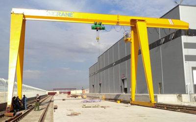 semi-gantry-crane