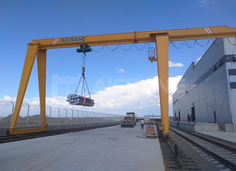 10ton single girder gantry crane