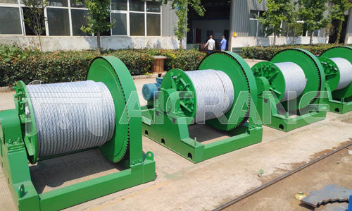 JM 30ton electric winch fro construction
