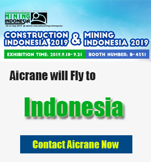 Aicrane will attend indonesia exhibition