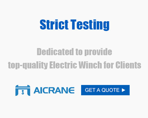 jm electric construction winch strict test