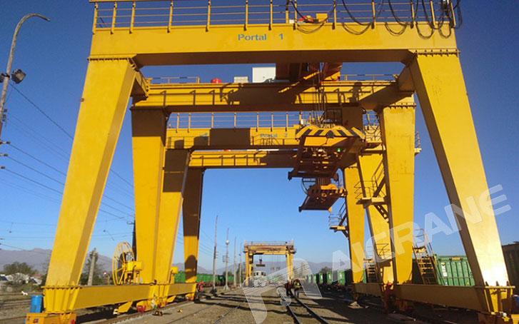 60ton-gantry-cranes-installed--in-Chile
