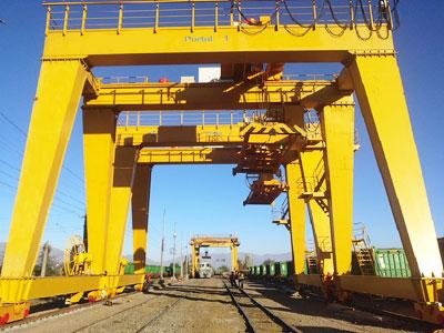 70t double beam gantry crane