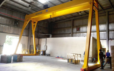 5 ton duble grider gantry crane in UAE