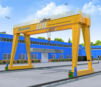 outdoor gantry crane for lifting work