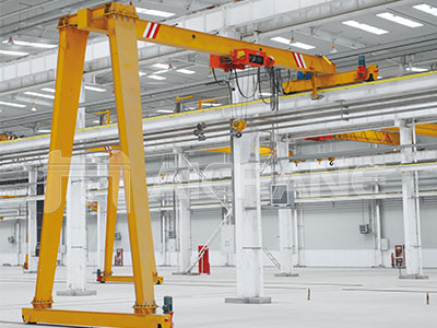 semi gantry crane manufacturer