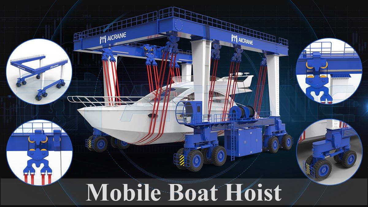 mobile boat hoist