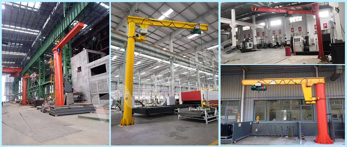 pillar jib crane supplier