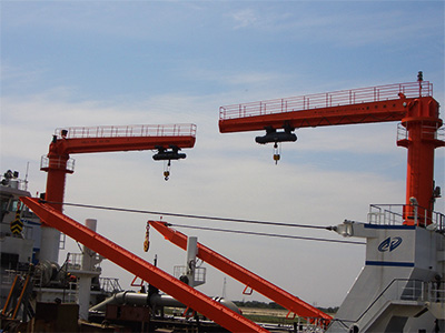 pillar mounted jib crane supplier