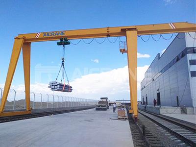 10ton single girder gantry crane