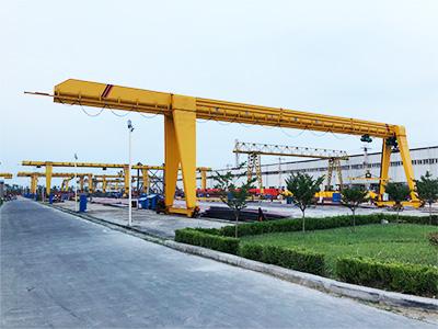single girder gantry crane manufacturer
