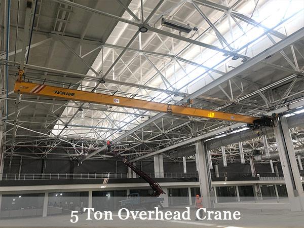 5 ton overhead crane-2