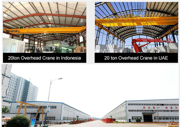 overhead crane factory price