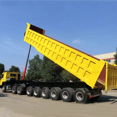 100 ton used tippers