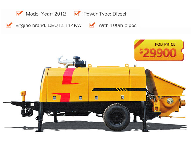 secondhand-diesel-concrete-pump